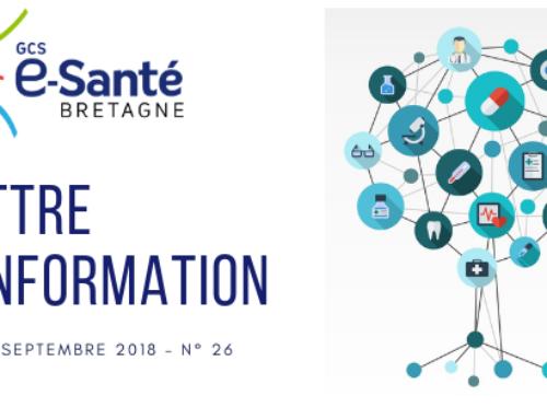 Actualités du GCS e-Santé Bretagne :  au service de la coordination numérique en santé