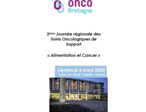 2 ème journée régionale en soins oncologiques de support
