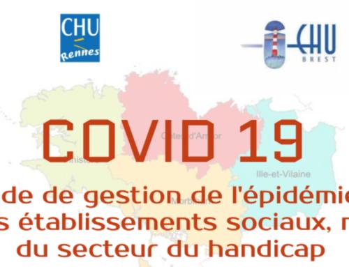 COVID 19 : Guide de gestion de l'épidémie à destination des établissements accueillant des personnes en situation de handicap