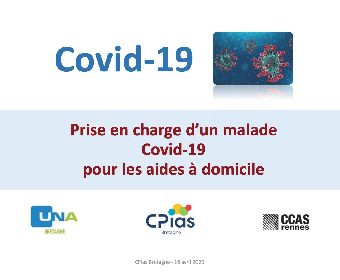 Prise en charge d'un patient COVID-19 pour les aides à domicile