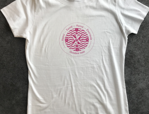 Les tee-shirts octobre rose sont arrivés!