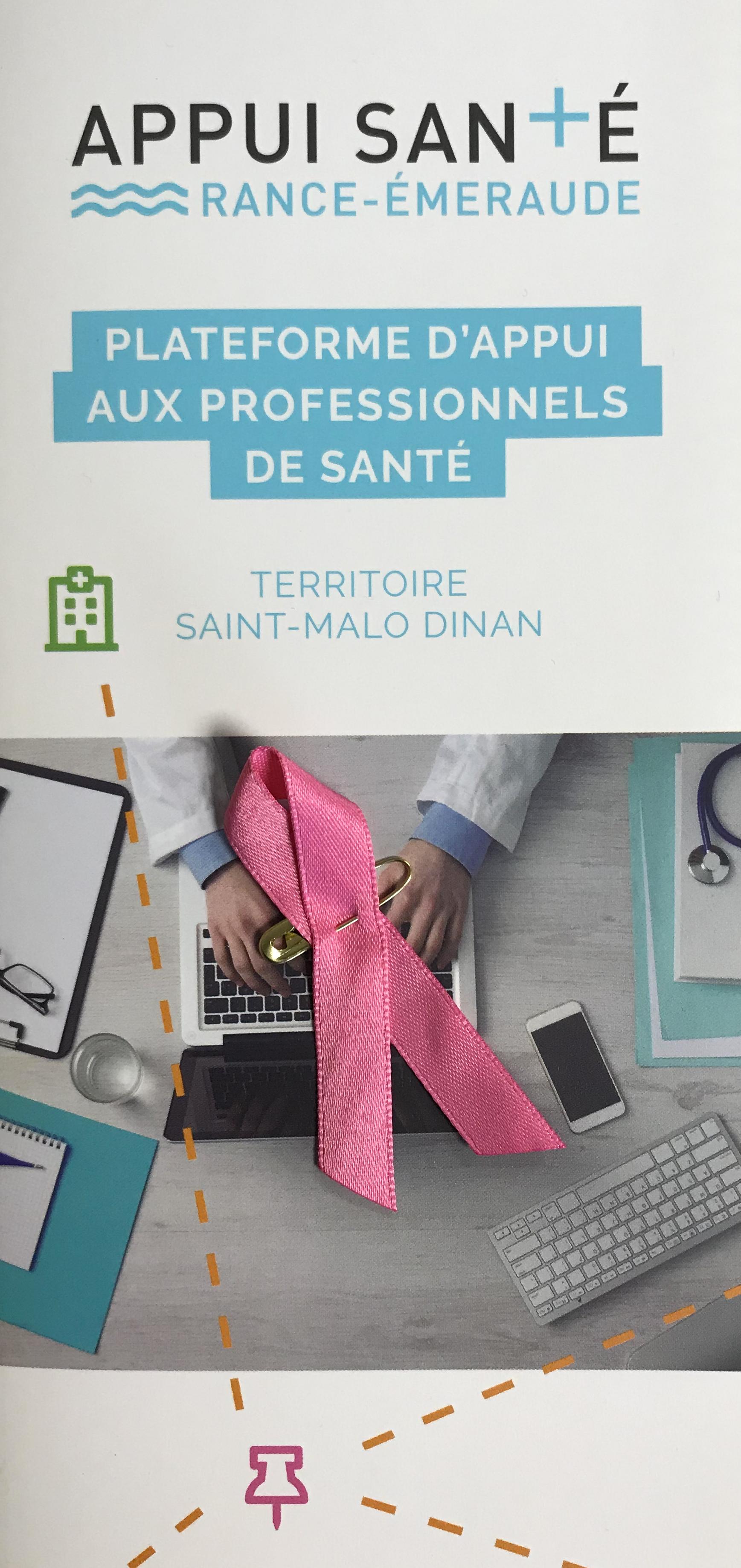Octobre Roselutte contre le cancer du sein: Appui Santé Rance Emeraude mobilisé